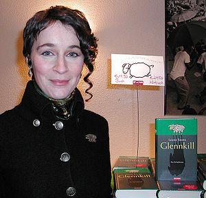 Deutsch: Autorin Leonie Swann bei einer Buchvo...