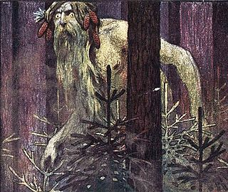 Leshy forest spirit in Slavic mythology, tutelary deity