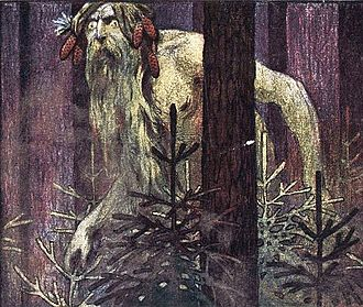 Leshy - An illustration, 1906