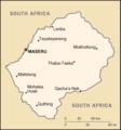 Lesotho-CIA WFB Map.png