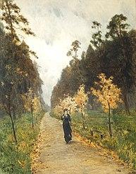 Isaac Levitan: Sokolniki. Autumn