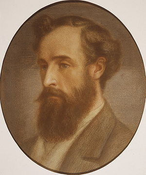 Frederick Richards Leyland - Head of Frederick Leyland, 1879 by Dante Gabriel Rossetti