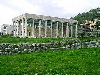 Saint Nicholas Church, Lezhe - Remains of the Church inside the mausoleum