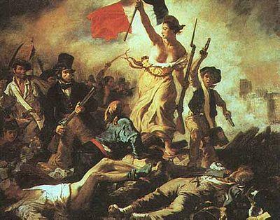 Franska revolutionens börjar 1789