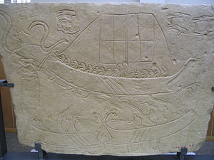 Liburnians - Battle between Liburnian and Picenian ships from the Novilara tablets (6th/5th century BC)