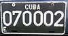 License plate of Cuba 2002 embassy 070002.jpg