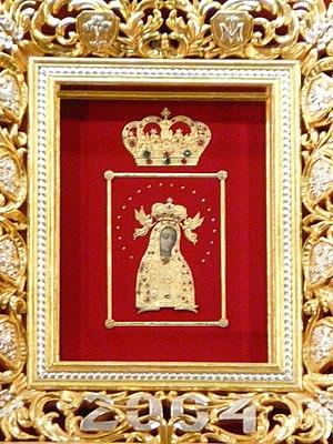 Our Lady of Sorrows, Queen of Poland - Image: Licheń Cudowny Obraz Matki Bożej Licheńskiej