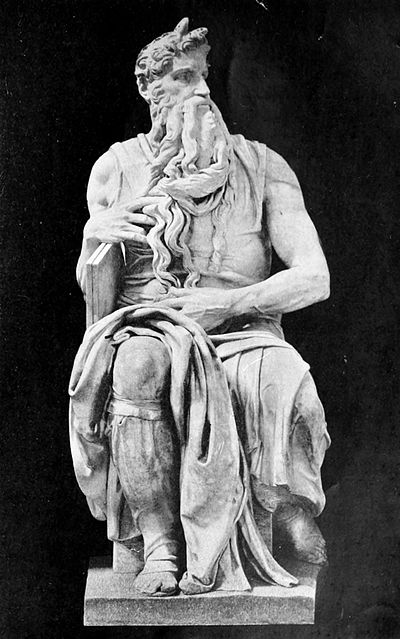 Life of Michael Angelo, 1912 - Moses (Tomb of Julius II).jpg