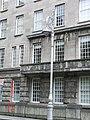 Lightpost and facade of State Heraldic Museum in Dublin - panoramio.jpg