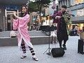 Lily Cao and Boy playing Gurenge 20201101b.jpg