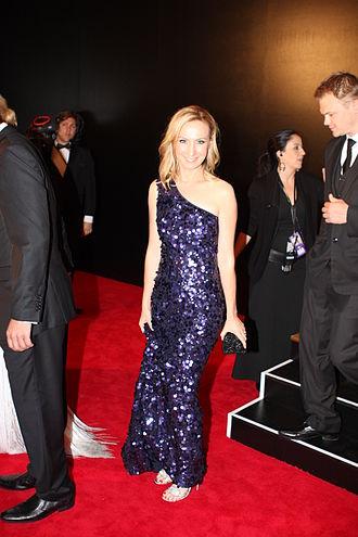 Lisa McCune - McCune at the 2011 Logie Awards