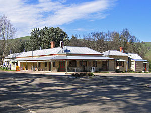 Ensay, Victoria - The classic architecture of The Little River Inn