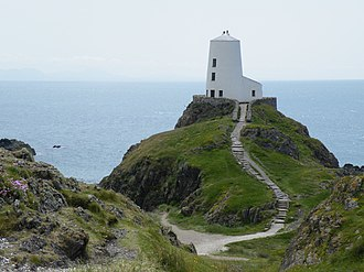 Llanddwyn Island Lighthouse - Tŵr Mawr lighthouse