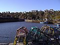 Lobster Pots on Crail Harbour - geograph.org.uk - 1075223.jpg
