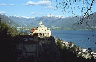 Locarno - Madonna del Sasso.