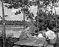Located along the Natchez Trace Parkway, and recently completed under the Mission 66 Program of the NPS, are picnic facilities (f0002878ba3d418c991afc56d726d347).jpg