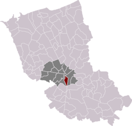 Location within the arrondissement of Dunkerque