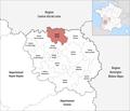 Locator map of Kanton Bonnat.png