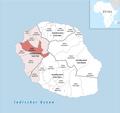 Locator map of Kanton Saint-Paul-2 2018.png