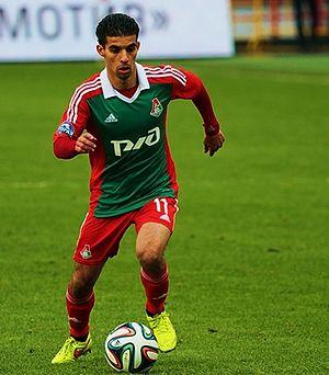 Mbark Boussoufa - Moubarak Boussoufa with  Lokomotiv Moscow.