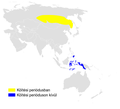 Locustella fasciolata distribution map.png