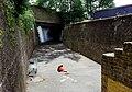 London, Woolwich Dockyard, factory walls and tunnel opposite Morris Walk Estate 2.jpg