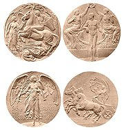 London 1908 Medals