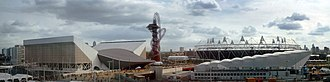 ArcelorMittal Orbit - Image: London Olympic Park from John Lewis