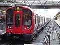 London Underground S7 Stock 21395 on Circle Line, Hammersmith (14028297587).jpg