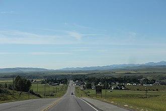 Longview, Alberta - Image: Longview Alberta Panorama looking south AB22