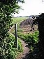 Looking E along footpath, Sholden - geograph.org.uk - 585492.jpg