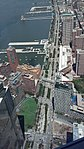Looking down to West Street from One World Observatory.jpg