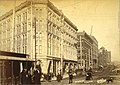 Looking north on 2nd Ave from Yesler Way, Seattle, Washington, ca 1890 (BOYD+BRAAS 75).jpg
