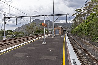 Coalcliff railway station railway station in Wollongong, New South Wales, Australia