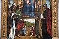 Lorenzo costa, Madonna in trono e santi, 1497, 04.JPG