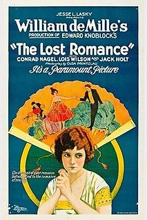 <i>The Lost Romance</i> 1921 film