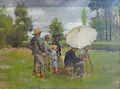 Lothar von Seebach-Le peintre en plein air.jpg