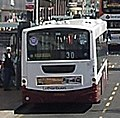 Lothian Buses bus Volvo B7RLE Wrightbus Eclipse Urban new Madder and White livery route 30 September 2010.jpg