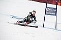 Lotte Smiseth Sejersted women's giant slalom Norway 2011 (gate).jpg