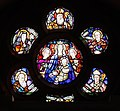 Loughrea St. Brendan's Cathedral Lady Chapel Rose Window by Michael Healy 2019 09 05.jpg