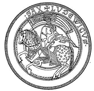 Louis IV, Landgrave of Thuringia - Seal of Louis IV