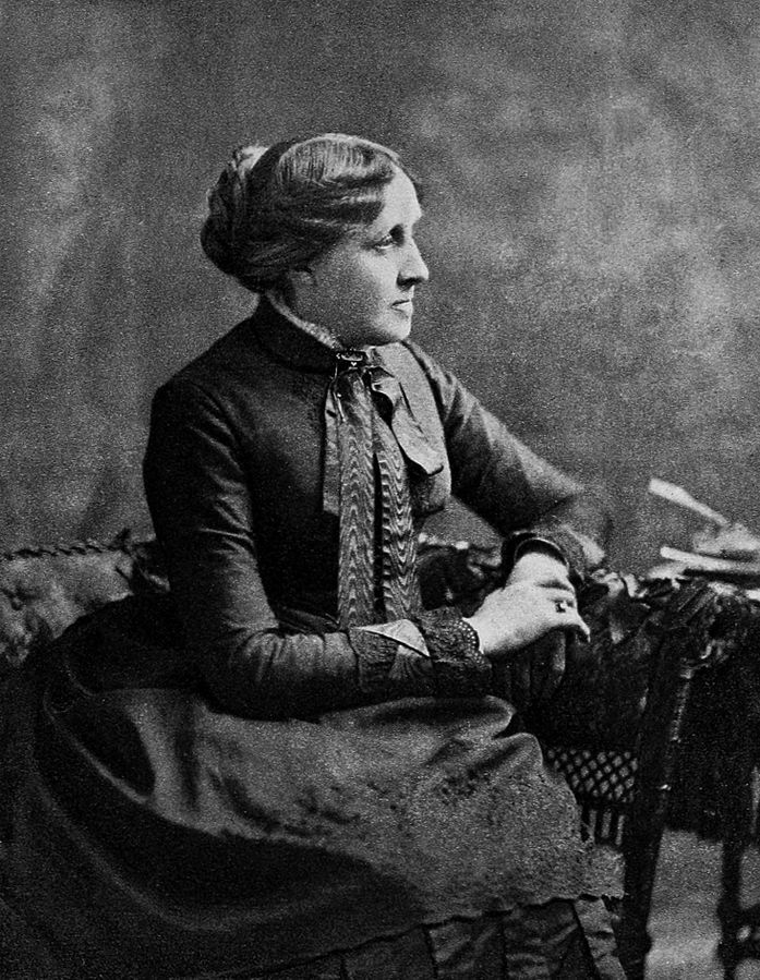 Lousia May Alcott autora de Mujercitas y Aquellas mujercitas.