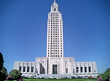 Image illustrative de l'article Capitole de l'État de Louisiane