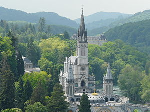 Hippolyte Durand - Basilica of Our Lady of the Immaculate Conception at Lourdes