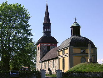 Lovön - Lovö church in May 2008.