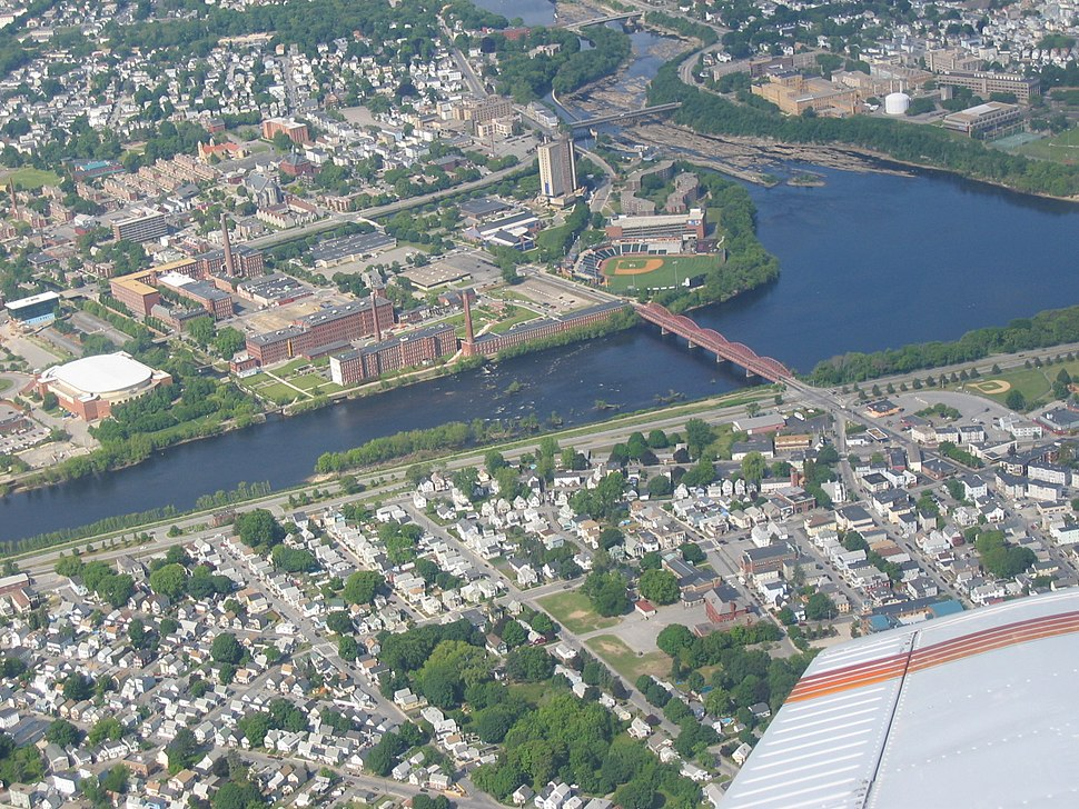 Lowell From the Air