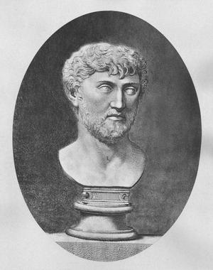 Lucretius - Bust of Lucretius