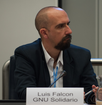 Luis Falcón - Luis Falcon at the World Summit on the Information Society Forum in Geneva, May 2013