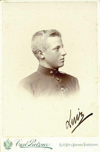 Prince Luís of Orléans-Braganza (1878–1920) - Luís in 1893.