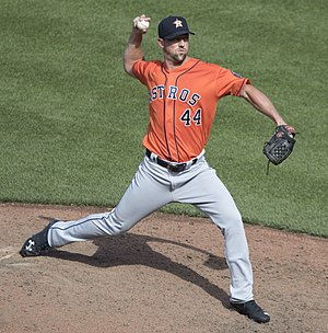 Luke Gregerson - Gregerson with the Astros in 2017